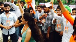 ABVP Wins Top 3 Posts In Delhi University