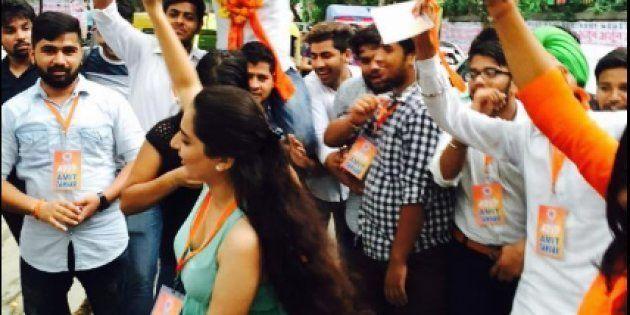 ABVP Wins Top 3 Posts In Delhi University