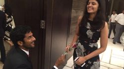 Davis Cup Dinner Takes A Romantic Turn As Tennis Pro Saketh Myneni Proposes To