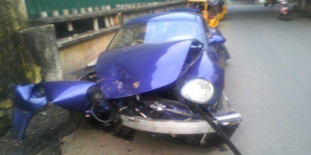 Drunk Racer Rams Porsche Into Auto-Rickshaw, Kills
