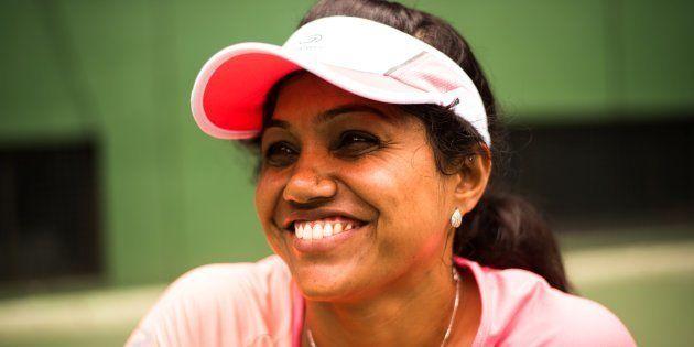 Prathima N. Rao started playing tennis in