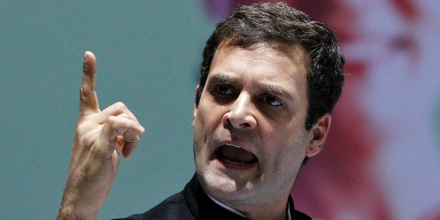 Shoe Hurled At Rahul Gandhi During Road Show In
