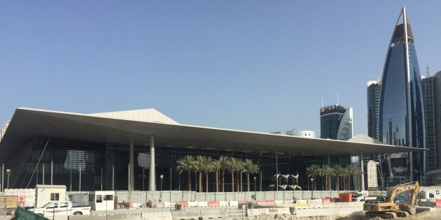 File photo of the Doha Exhibition and Convention Center in
