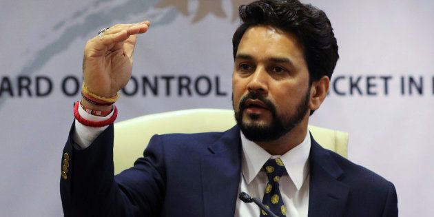 Anurag Thakur, newly-elected president of Board of Control for Cricket in India