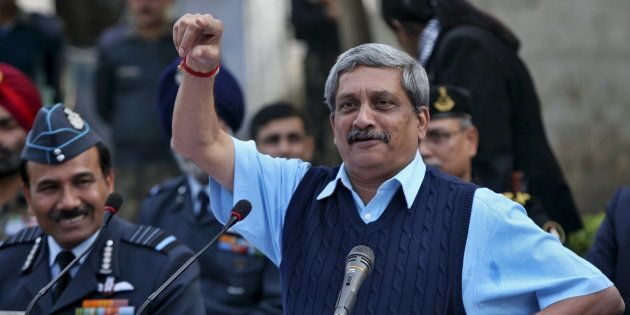 File photo of India's Defence Minister Manohar