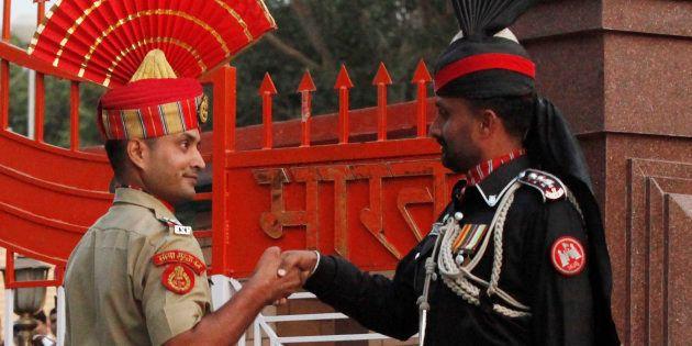 Anti-India Slogans Raised, Stones Thrown From Pak During Retreat Ceremony At Attari-Wagah