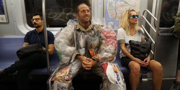 Meet The Man Who Will Wear His Trash For 30