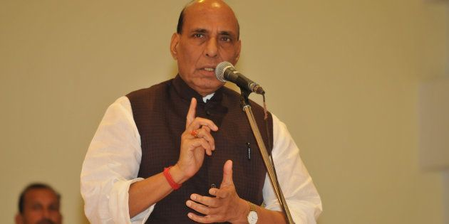 Union Home Minister Rajnath Singh. (Photo by Pardeep Pandit/Hindustan Times via Getty