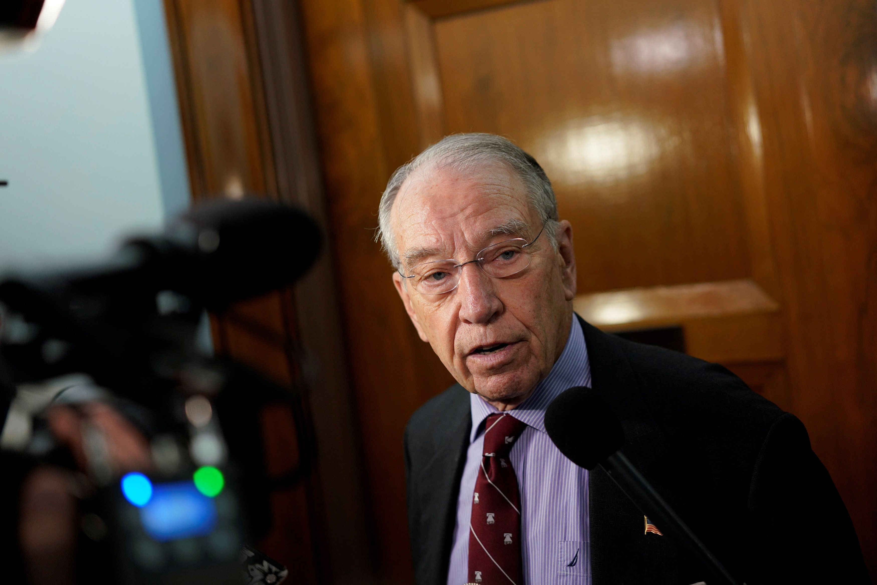 Sen. Chuck Grassley (R-Iowa) has been working since 2015 to reauthorize the Juvenile Justice and Delinquency Prevention Act.
