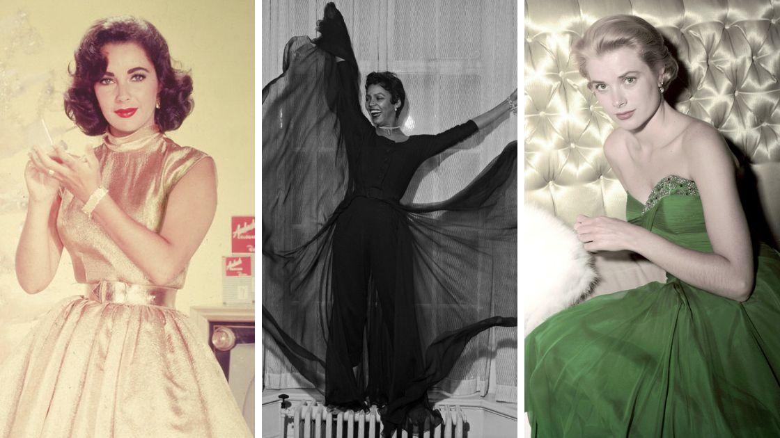 Elizabeth Taylor, Dorothy Dandridge, Grace Kelly