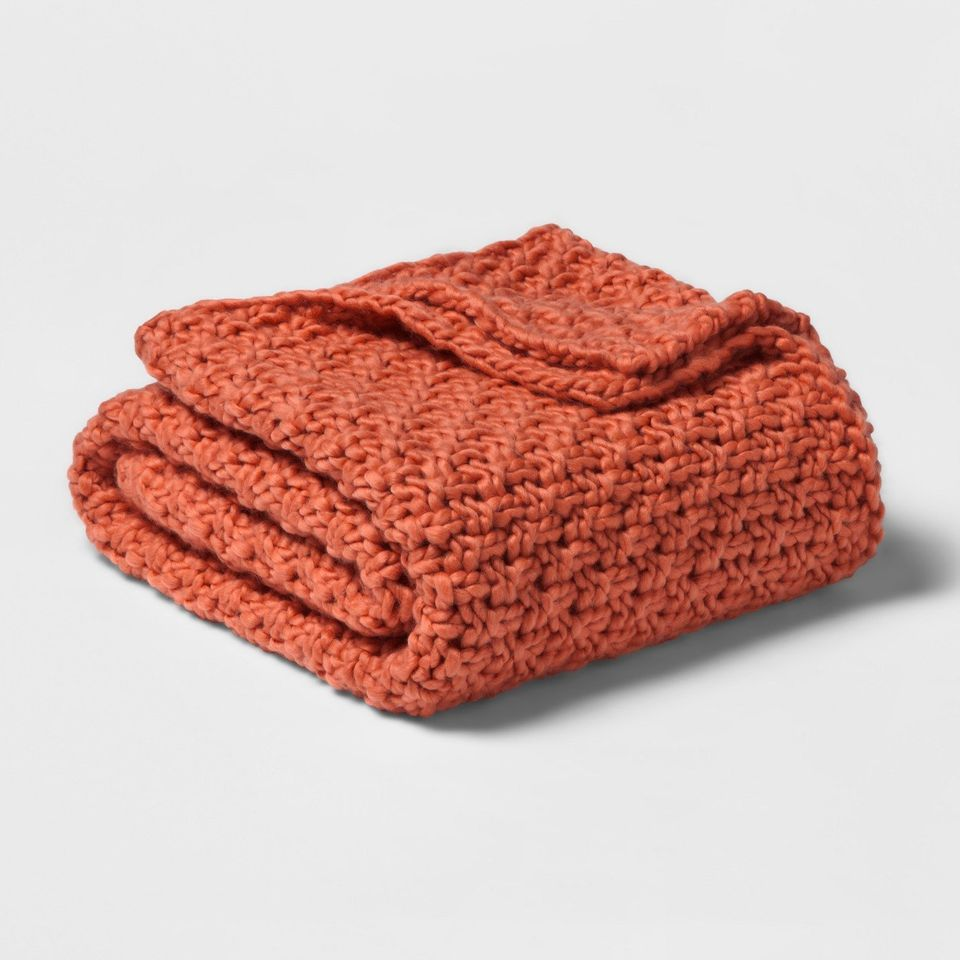 Here's Where You Can Buy Chunky Knit Blankets And Throws