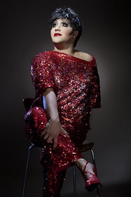 "Drag performer Trevor Ashley will star in""Liza's Back! (Is Broken)"" in New York in February."