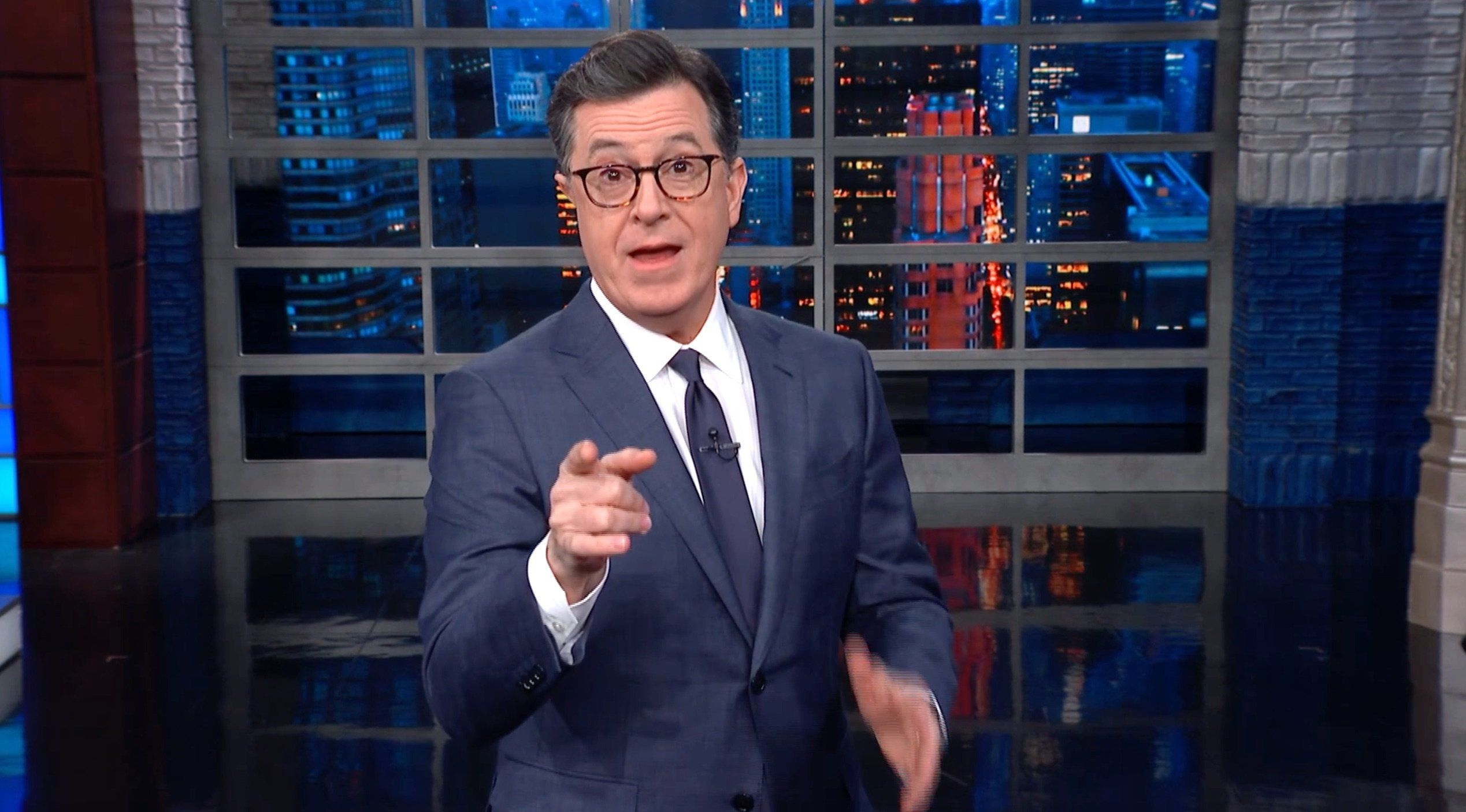 Colbert Has Some Incredibly Blunt Advice For Michael Cohen's First Day In
