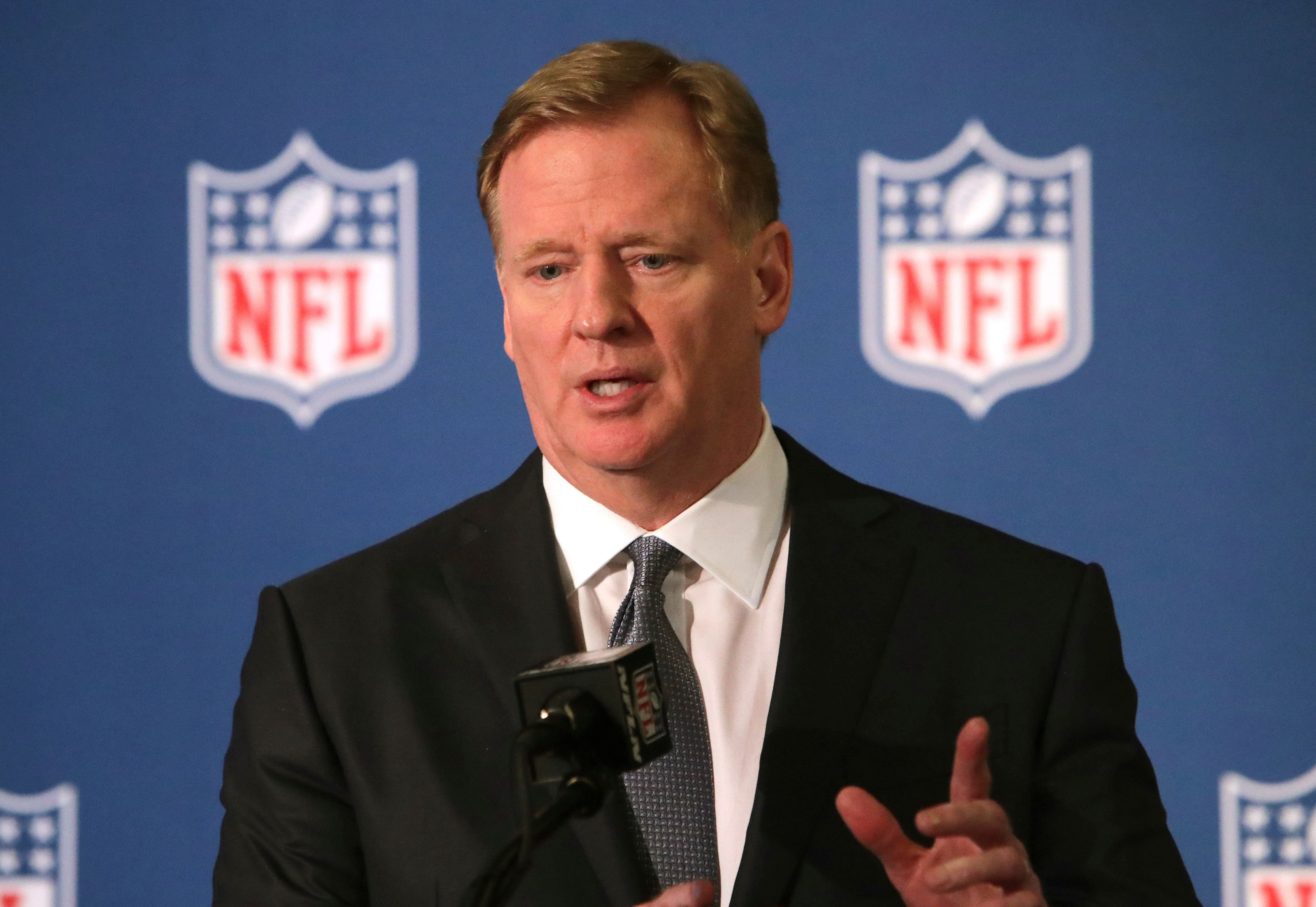 Goodell: NFL won't pay for video in domestic