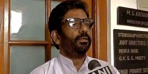 Snubbed By Airlines, Shiv Sena MP Ravindra Gaikwad Takes The