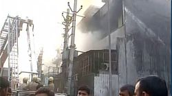 One Dead In Massive Fire In Plastic Factory In