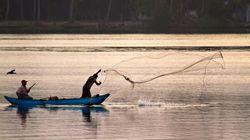 12 Indian Fishermen Arrested By Sri Lankan