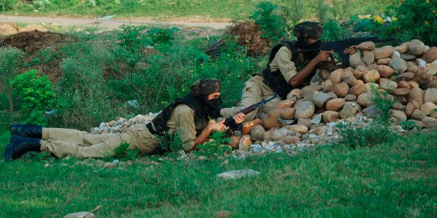 One Civilian Killed In Gunfight In Between Militants And Security Forces In Budgam,