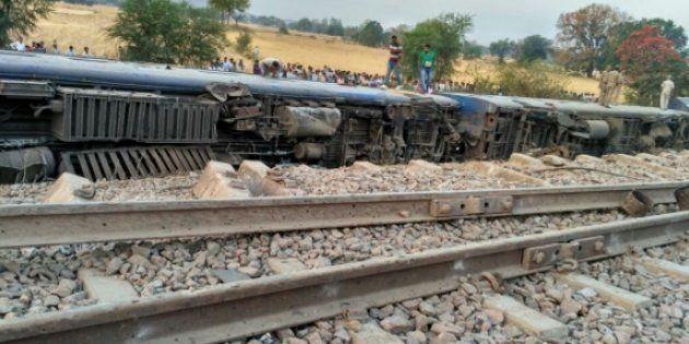 8 Coaches Of Mahakaushal Express Derailed In Uttar Pradesh, 52 Passengers