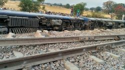 8 Coaches Of Mahakaushal Express Derailed In Uttar Pradesh, 52 Passengers