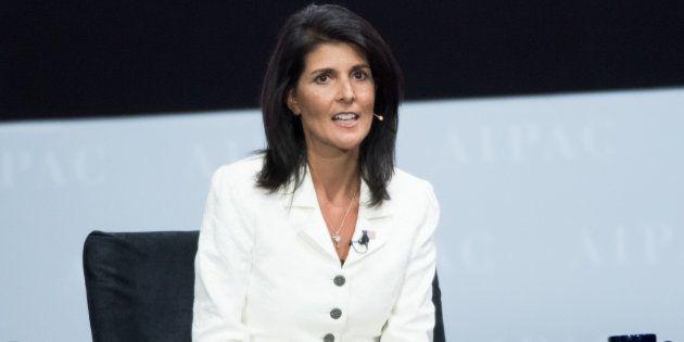File photo of United States Ambassador to the United Nations Nikki
