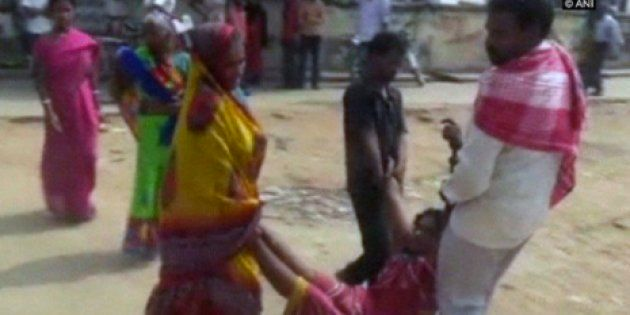 Mentally Ill Woman Dragged Around Arrah Hospital In Bihar After She Was Denied A