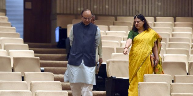 Maneka Gandhi Writes To FM Arun Jaitley For Making Sanitary Napkins Tax Free Under
