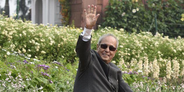 President of India Pranab Mukherjee visits the Mughal