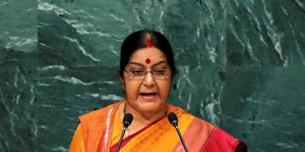 India's Minister of External Affairs Sushma