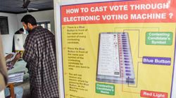 EC Announces Re-Poll In 38 Polling Stations In Srinagar Lok Sabha