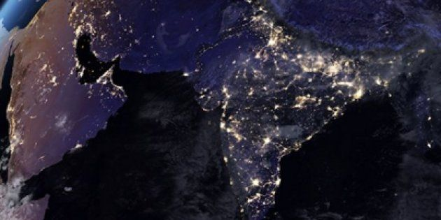 NASA Releases New Global Maps Of Earth's 'Night Light' And India Looks Absolutely