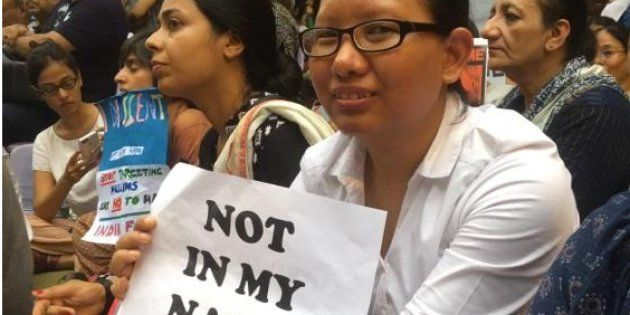 The Morning Wrap: Hundreds Gather For #NotInMyName; Byculla Prison