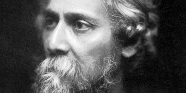 Portrait of Rabindranath