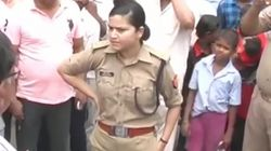 UP Woman Cop Who Stood Up Against BJP Workers Transferred To Keep The Party's Pride