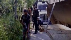 Terrorist Killed In Encounter In Jammu And Kashmir's