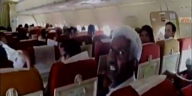 WATCH: Suffocating Passengers Protest After AC Stops Working On Air India