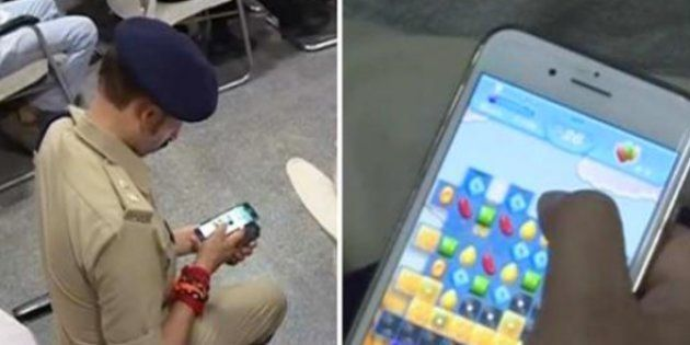 Three Bihar Police Officials Issued Show Cause Notices For Playing Games On Phone During CM's