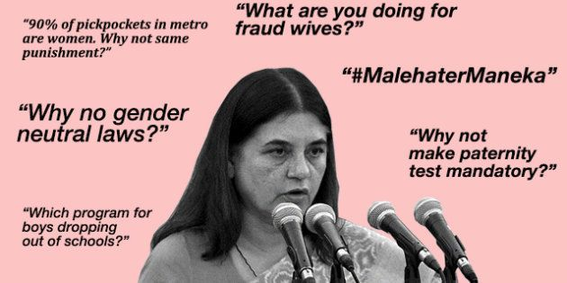 You Only Need To Take A Look At Maneka Gandhi's Facebook Page To Understand How Male Entitlement