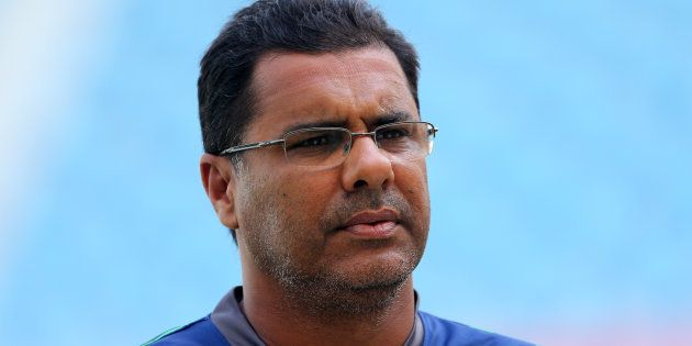 Pakistan's coach Waqar Younis during netsAction Images via Reuters / Jason O'BrienLivepic