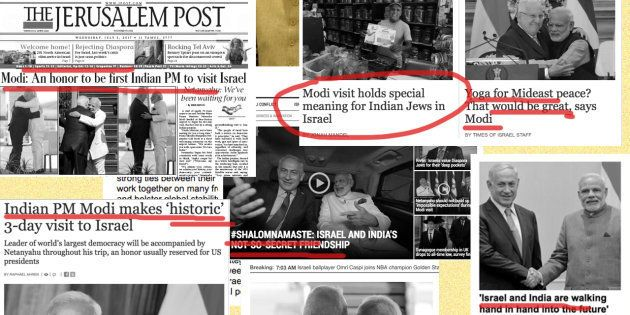 'A Superstar', 'Historic Visit': How Israel's Media Covered Narendra Modi's Visit To The