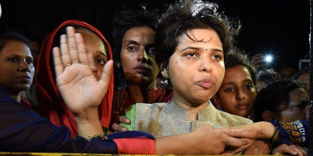 Women's Rights Activist Trupti Desai Booked Under Atrocities