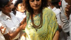 BJP Leader Roopa Ganguly Stopped From Entering West Bengal's