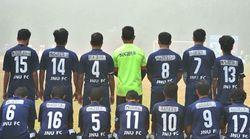 JNU Football Team Wears Missing Student Najeeb Ahmad's Name On Jerseys To Show