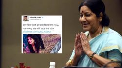 Sushma Swaraj Helps Pakistani Bride And Her Family To Get Visas In Time For Her November
