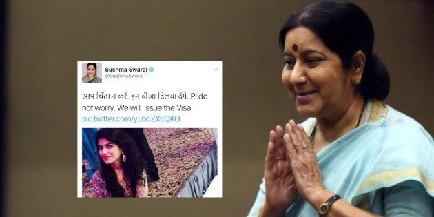 Sushma Swaraj Helps Pakistani Bride And Her Family Get Visas In Time For Her November