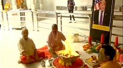 Mumbai Temple Performs Special 'Havan' For Donald Trump's