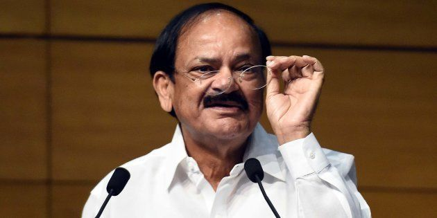 File photo of Information and Broadcasting Minister M. Venkaiah