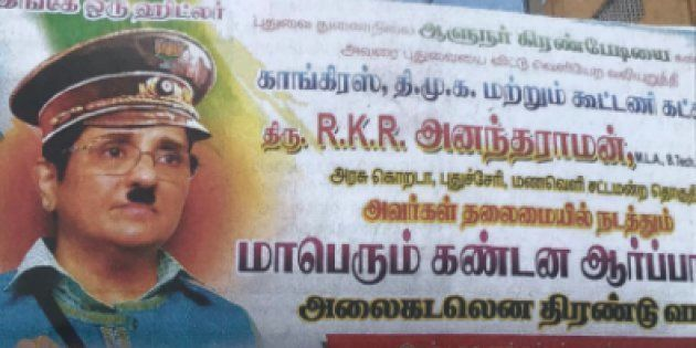 Kiran Bedi Seen As 'Hitler', 'Goddess Kali' In Posters Allegedly Put Out By