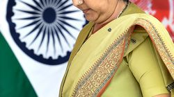 Sushma Swaraj Admitted To