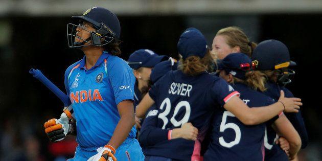 Cricket - Women's Cricket World Cup Final - England vs India - London, Britain - July 23, 2017 England's...